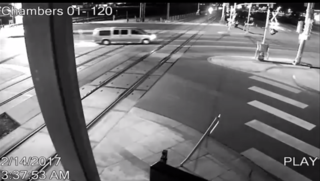 APD releases video of fatal A Line crash