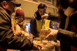 Volunteer or donate to homeless organizations