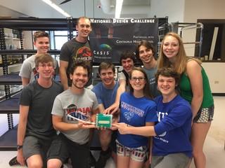 Centaurus HS team sending experiment into orbit