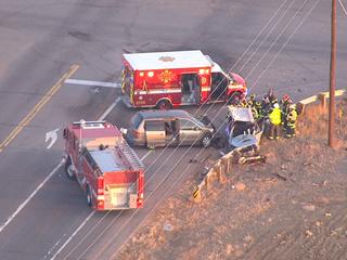 2 injured in Boulder County crash