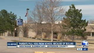 Jeffco moms take kids from school due to bullies