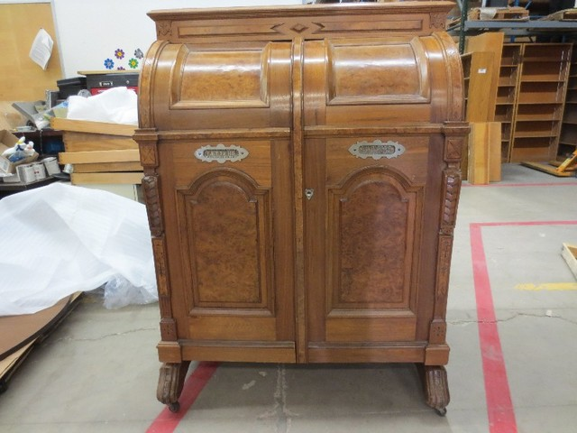 CU Boulder's 140-year-old Wooten antique desk might be worth more than your  car - Denver7 TheDenverChannel.com - CU Boulder's 140-year-old Wooten Antique Desk Might Be Worth More