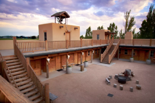 Colorado fort listed on Airbnb sleeps 37