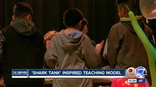 Middle schoolers make 'Shark Tank' style pitches