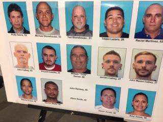 Authorities: 16 indicted in illegal pot raids