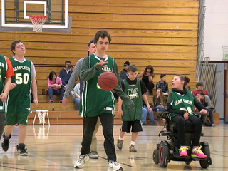 March Madness hits unified basketball teams