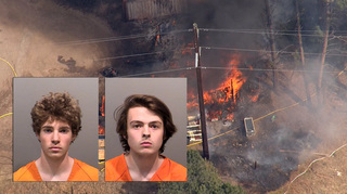 Sheriff: Teens lighting fireworks sparked fire