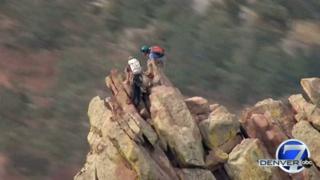 VIDEO: Climbers summit Flatiron No. 1