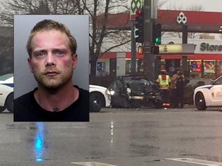 Armed fugitive captured after carjacking, chase