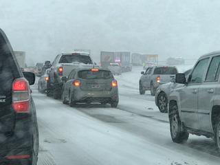 Crashes, closures amid Colorado's snowy roads