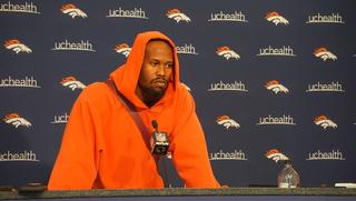 Von talks in third person; Be afraid, NFL foes