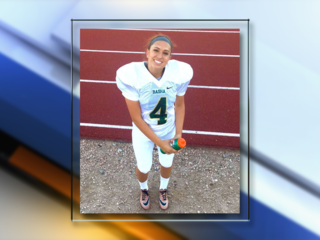 Colo Univ. gives 1st female football scholarship