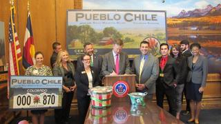 Gov. signs Pueblo chile license plate bill