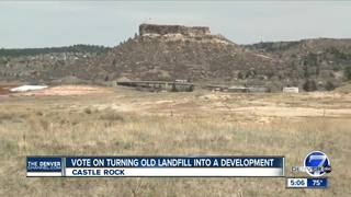 Castle Rock will move foward with development