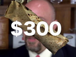 $300 burrito teaches kids money management