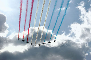 Patrouille de France perform at AFA