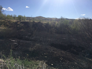 8th suspicious fire in 5 months near Green Mtn.