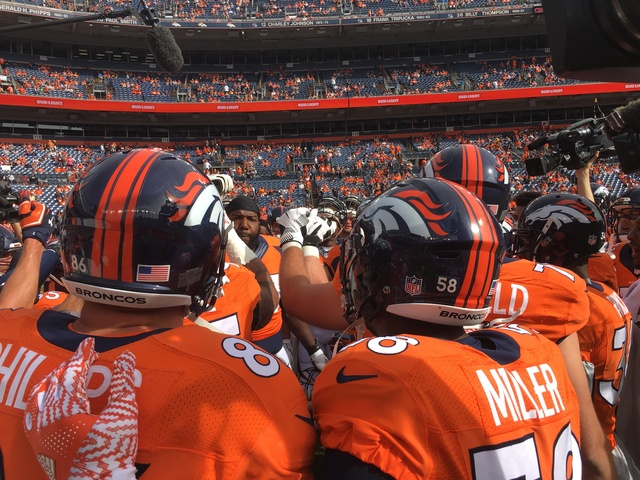Broncos release 2018 schedule, open vs. Seahawks