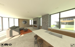 Using virtual reality to sell new homes