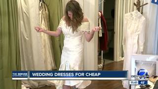 Thrift stores help brides stay on budget