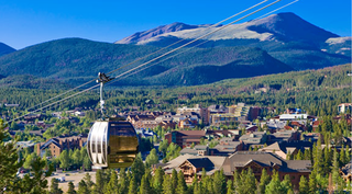 Colo. resort town visits slowing, spending soars