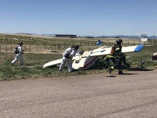 Pilot walks away with minor injuries after crash