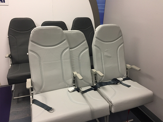 Innovative airline seats designed in Lakewood
