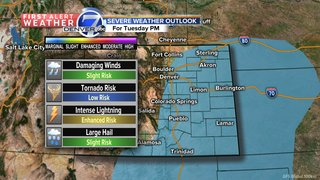 More severe weather possible throughout week