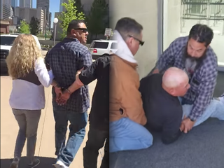 New videos taken of ICE arrests at Denver courts