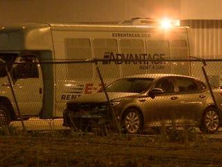 DIA travelers stranded at rental car office
