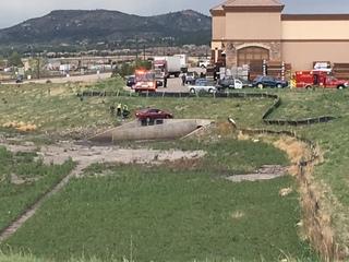 Driver dies after crash in Castle Rock