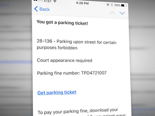 Denver woman warns about fake parking ticket