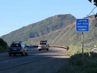 Highway named for Blue Angel killed in crash