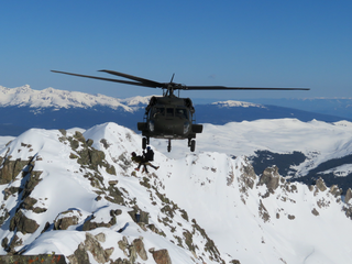 Blackhawk used to rescue 2 climbers