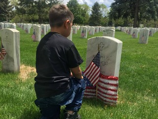 Fallen honored at Fort Logan on Memorial Day