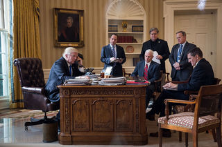Trump asks leaders to call cell, causing concern