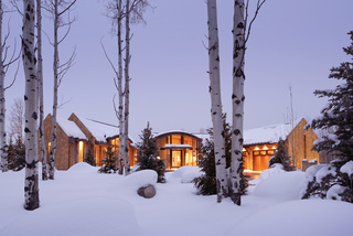 $49M Aspen estate includes guest house, stable