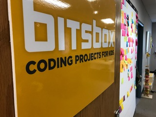 Bitsbox subcription teaches kids how to code