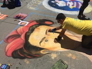 Photos: The 2017 Denver Chalk Art Festival