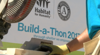 Habitat for Humanity build-a-thon underway