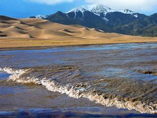 Great Sand Dunes experiencing rare phenomenon
