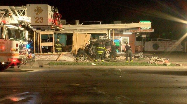 Car Crash On Federal Blvd