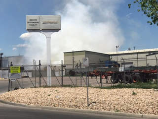 Crews respond to fire at recycling plant