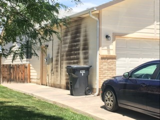 Possible arson at former home of Donthe Lucas