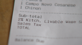 Denver restaurant charges 'livable wage' fee