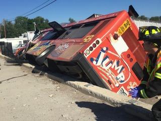 RTD bus, cars involved in Boulder crash