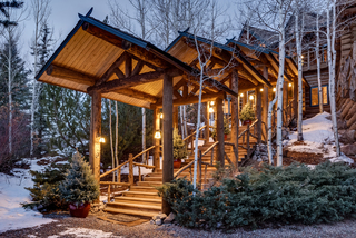 $13M Aspen home has luxurious log cabin feel