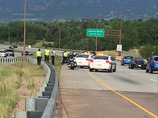 Officer in VP motorcade injured after crash