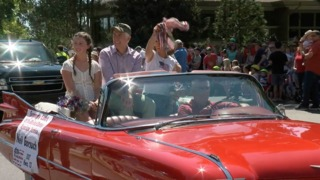 Neil Gorsuch attends Niwot 4th of July parade