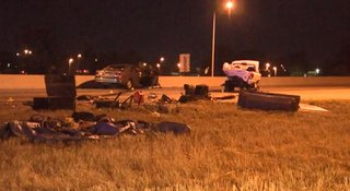 Several hurt in multiple-vehicle crash